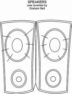 Speaker Coloring Pages Coloring Pages