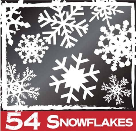 54 snowflake window clings christmas decorations best