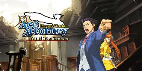 phoenix wright ace attorney dual destinies nintendo ds  software games nintendo