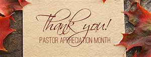 Pastor Appreciation Month! - First Presbyterian Church of ...