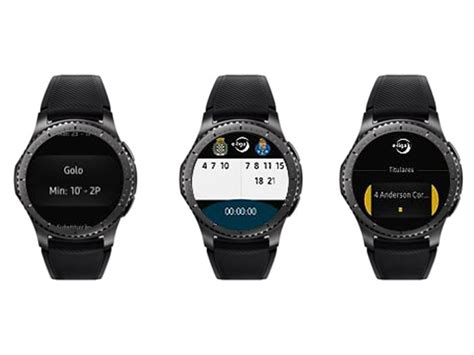 samsung straps gear s3 on liga portugal refrees for easier match reporting tizen experts