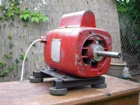Vintage Electric Motor by Hoover Vintage Electric Motor
