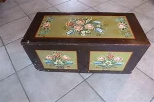 Belle Boite De Rangement : belle bo te de rangement peinte avec motifs floraux bois catawiki ~ Farleysfitness.com Idées de Décoration
