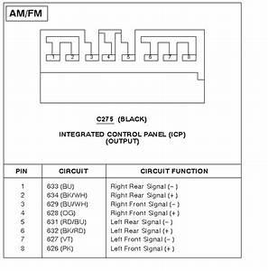 Radio And Temperature Control Wiring Harness Schematics
