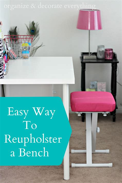 easy way to reupholster a the easy way to reupholster
