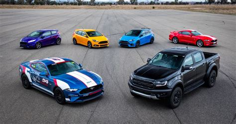Ford 2016 Lineup by 2018 Ford Performance Lineup In Australia All Things New