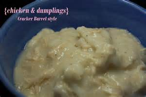 Cracker Barrel Chicken and Dumplings Recipe
