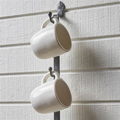 bistro wall rack iron accents