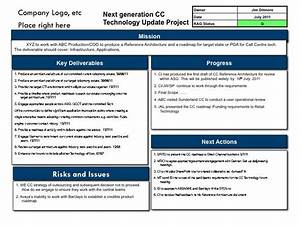 business one pager example four box report examples With 4 blocker template