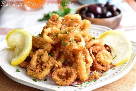 comment cuisiner les calamars calamars frits recette tapas facile le cuisine de