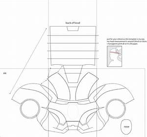 Dali lomo iron man 4 costume helmet diy cardboard with for Iron man suit template