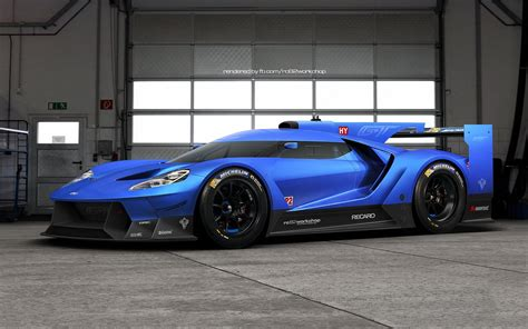 2018 Ford Gt Le Mans Prototype Comes To Life Gtspirit