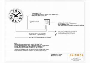 Wiring Diagram For A Tower Clock With A Master Clock And