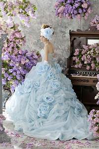 stella de libero color wedding dresses wedding inspirasi With wedding dresses with color blue