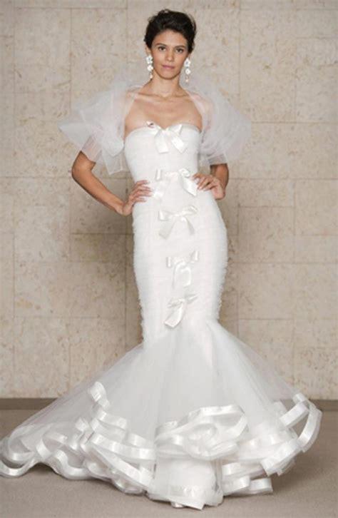 best wedding dress designer goes wedding 2012 best lace mermaid wedding gowns