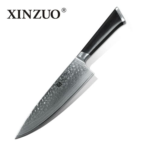japanese damascus kitchen knives xinzuo 8 inch gyuto knife japanese damascus steel kitchen
