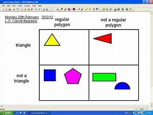 Mr Howe U0026 39 S Class  Maths  Carroll Diagrams