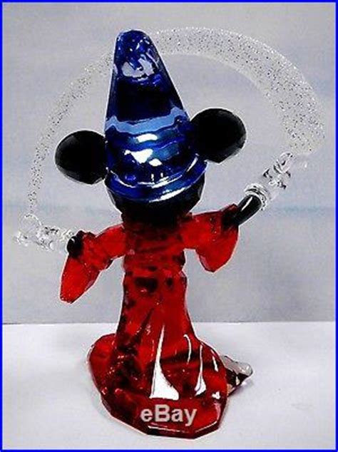 sorcerer mickey mouse limited edition disney crystal
