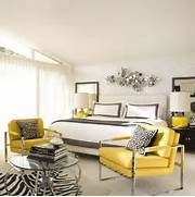 Yellow Grey Bedroom By Designer David Jimenez Via Desire To Inspire Yellow Monochromatic Interior Design Home Interior Design Analogous Color Schemes What Is It How To Use It An Energetic White And Yellow Interior Design Scheme