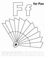 Fan Coloring Ceiling Template Pages Templates sketch template