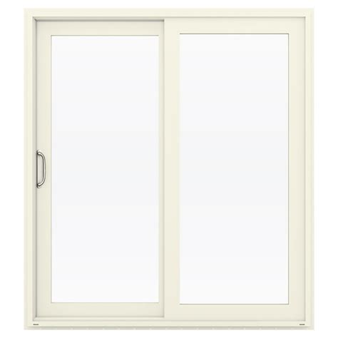jeld wen patio doors shop jeld wen v 4500 71 5 in x 79 5 in left vinyl
