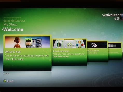 New Xbox Welcome Screen Picture Image Photo