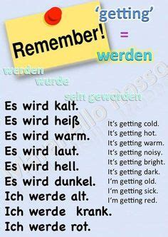German Vocabulary  How Are You Feeling Today?  Germandeutsch  Pinterest  Learn German