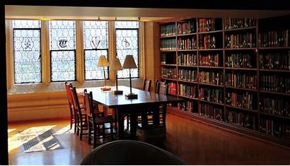 Library College Study Area Vassar Background Studying