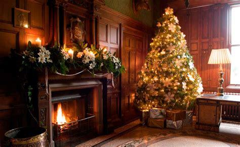 galeria de imagenes ideas  decorar una casa en navidad