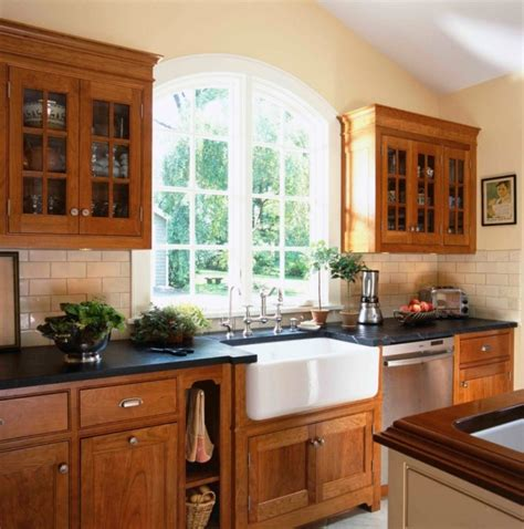 farmhouse sink cabinet ideas maple wooden cabinet with white ceramic sink and black
