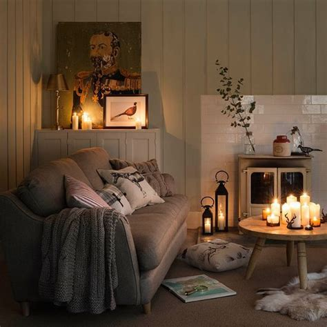 woodland cottage theme warm  cozy interiors
