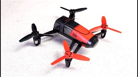parrot bebop drone unboxing overview youtube