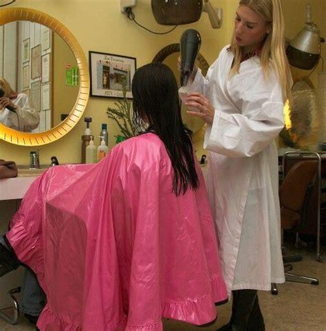 barber cape anjas hairmodel de barberettes