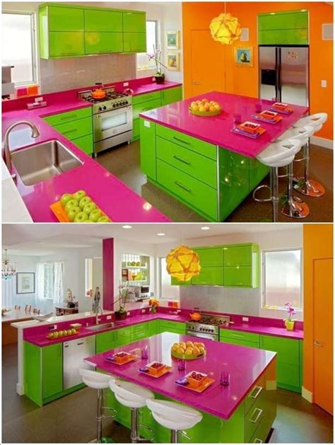 colorful kitchens ideas 5 bright and colorful kitchen designs that are simply fabulous