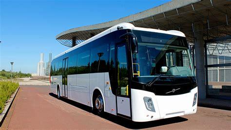 abu dhabi orders  volvo intercity coaches volvo buses