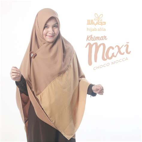 hijab alila khimar maxi