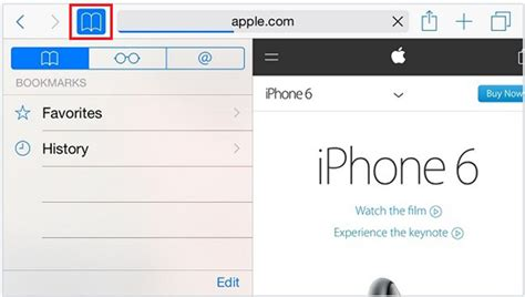 how to remove safari from iphone how to delete bookmarks and favorites in safari from