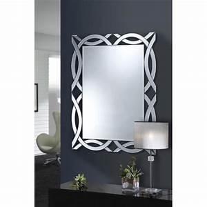 Miroir Rectangulaire Pas Cher : miroir grand format pas cher ~ Teatrodelosmanantiales.com Idées de Décoration