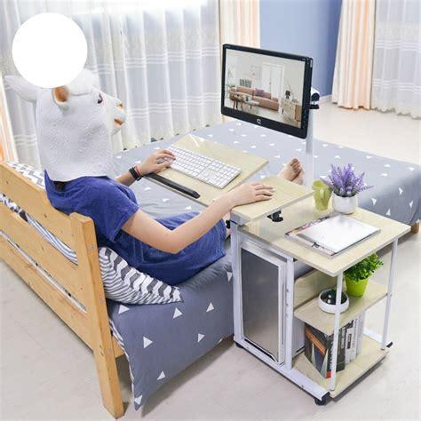 bedside desk selling fashion simple hanging bedside desk lazy pc