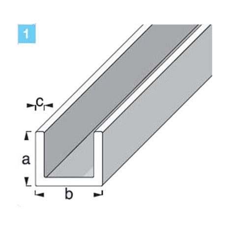 pvc u profil u profil pvc feh 201 r 10x14x1mm 1m lemez profil sz 246 gvas