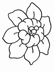Simple Flowers To Draw For Kids - ClipArt Best