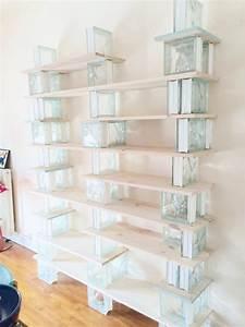 Bibliotheque Verre : diy biblioth que en bois et verre blog deco clem around the corner ~ Voncanada.com Idées de Décoration