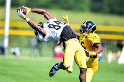 Pittsburgh Steelers camp: Antonio Brown, Artie Burns put ...