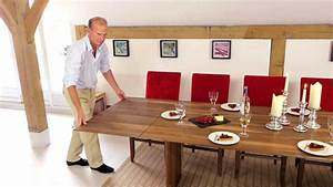 Walnut Extending Table - YouTube