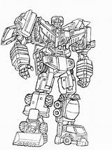 Pages Coloring Robots Boys Transformers Robot Printable Mycoloring sketch template