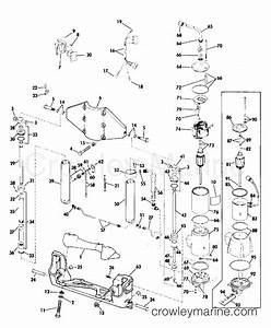 power tilt and trim 50 hp 1975 rigging parts accessories With diagram of 1975 electrical omc outboard accessories control box wiring