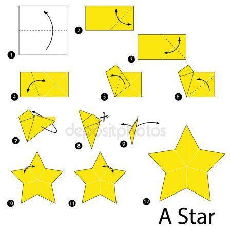 paso a paso las instrucciones de c 243 mo hacer una estrella galaxy estrellas de origami
