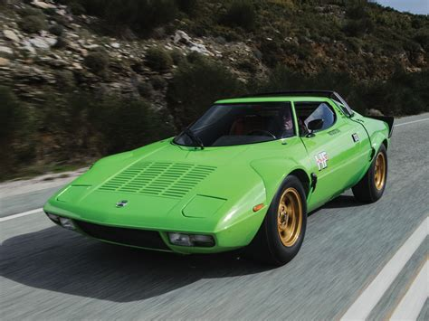 Pistachio Green Suits this Lancia Stratos HF Stradale ...