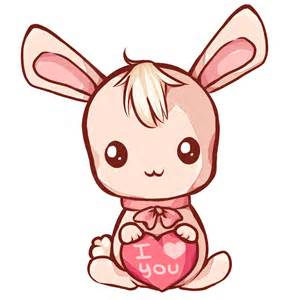 Cute Kawaii Bunny Drawings