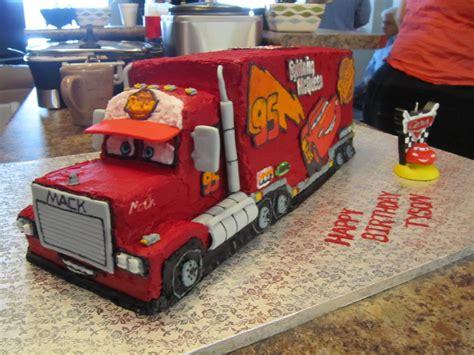 disney cars mack truck cake cakecentralcom
